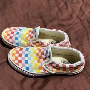 Youth Vans Brand Sneakers.